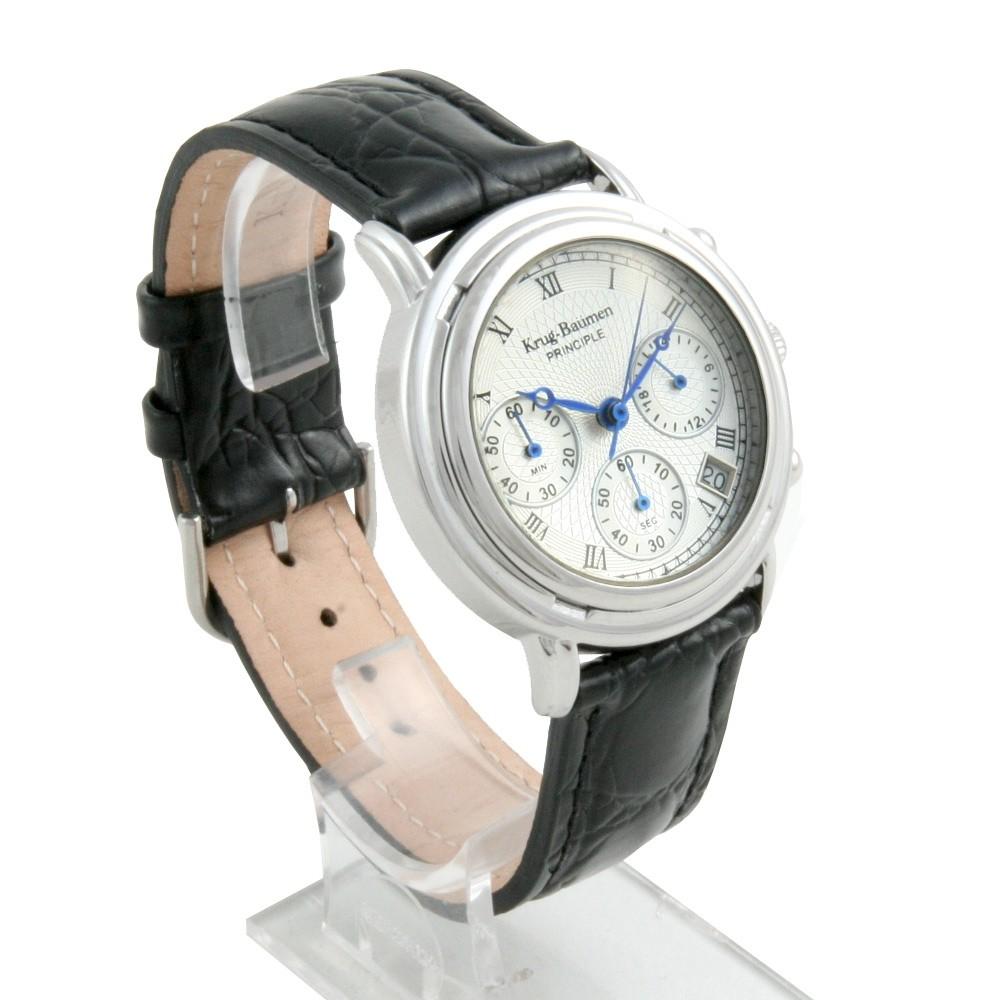 Model Armband- & Taschenuhren Krug-baumen 2011km Krug-baumen Principle Classic Mens Chronograph Watch