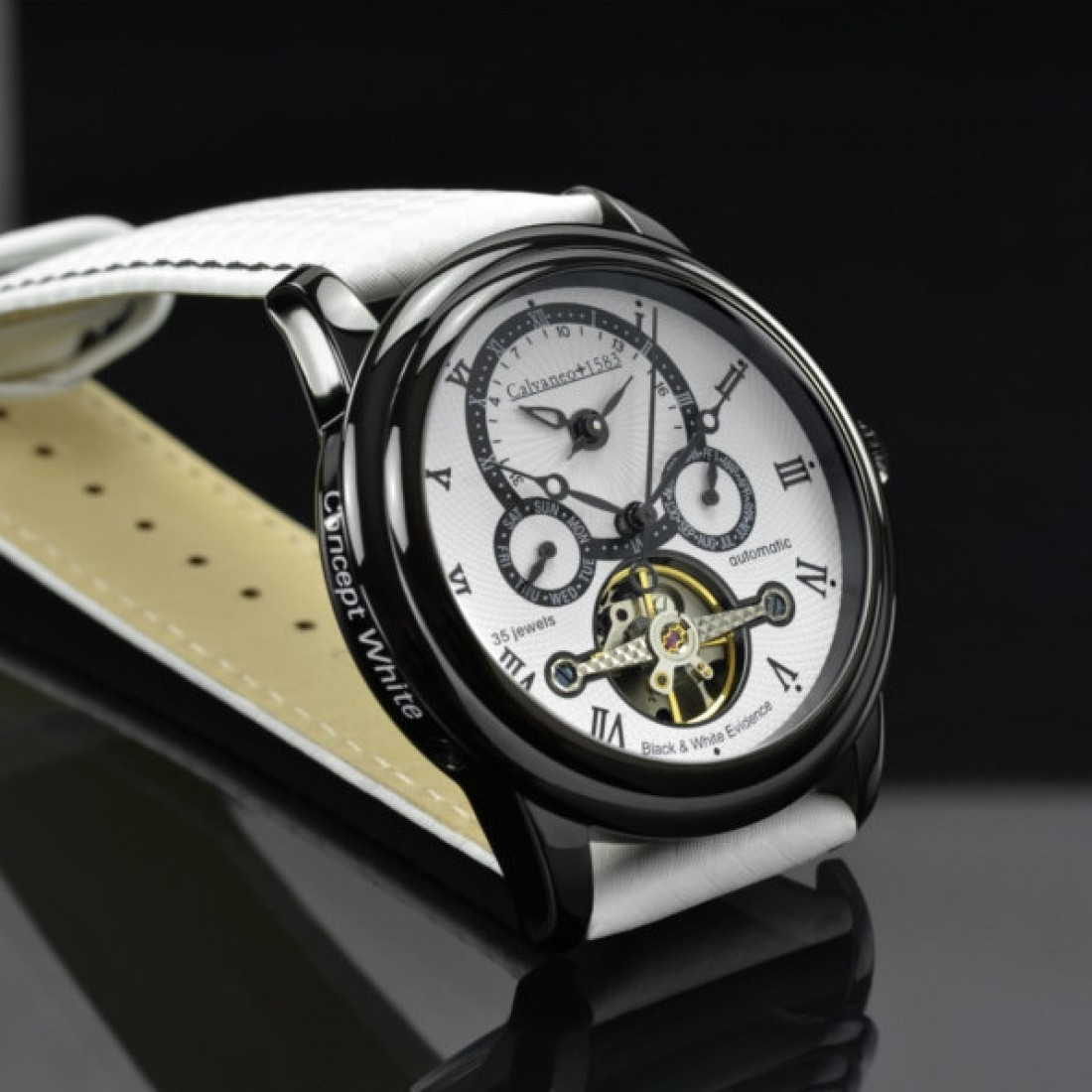 Men's Evidence Concept White Watch