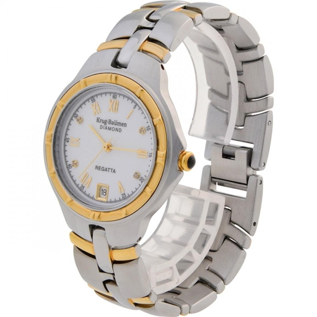 Men's Regatta Diamond Chronograph Watch