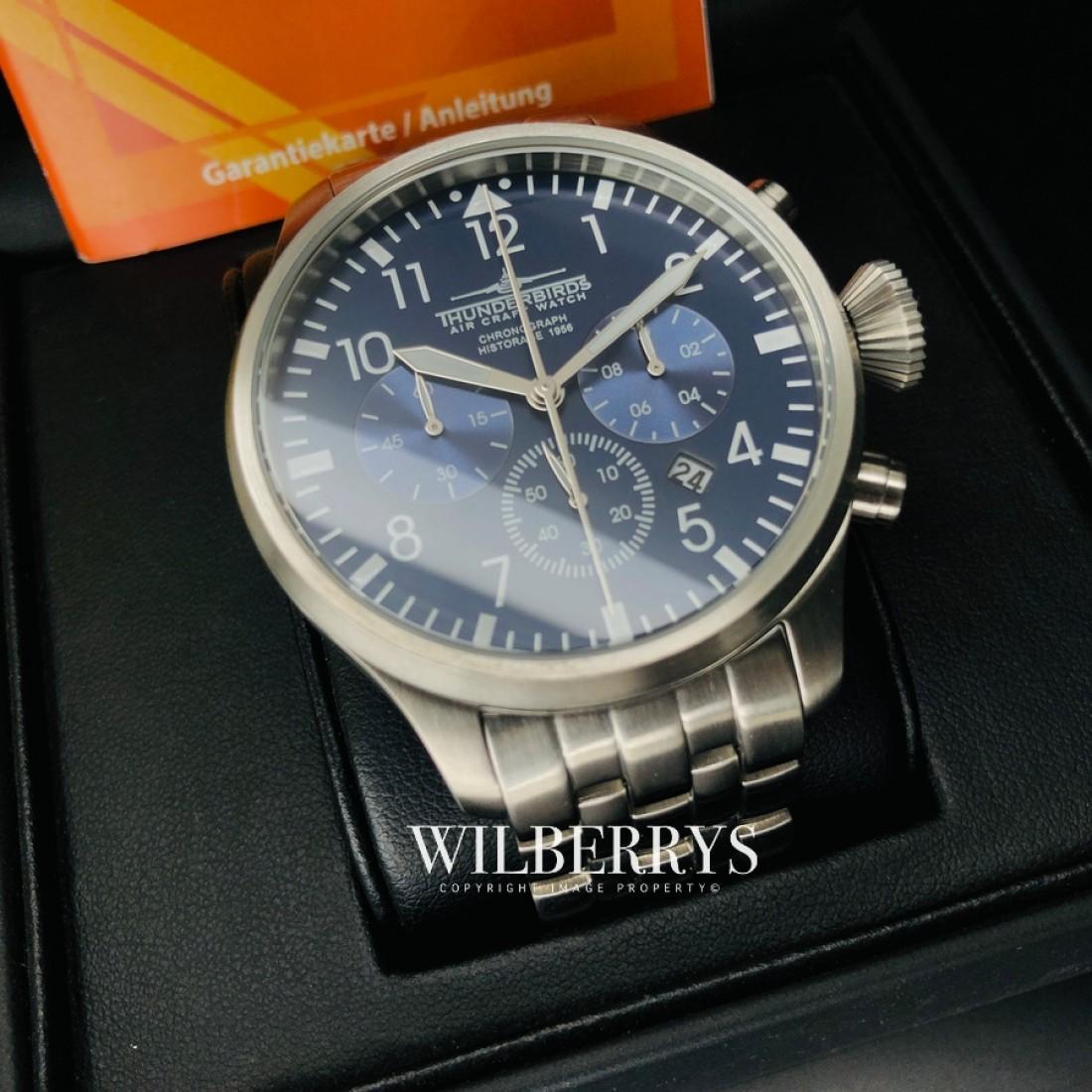 Historage Chronograph Blue Steel