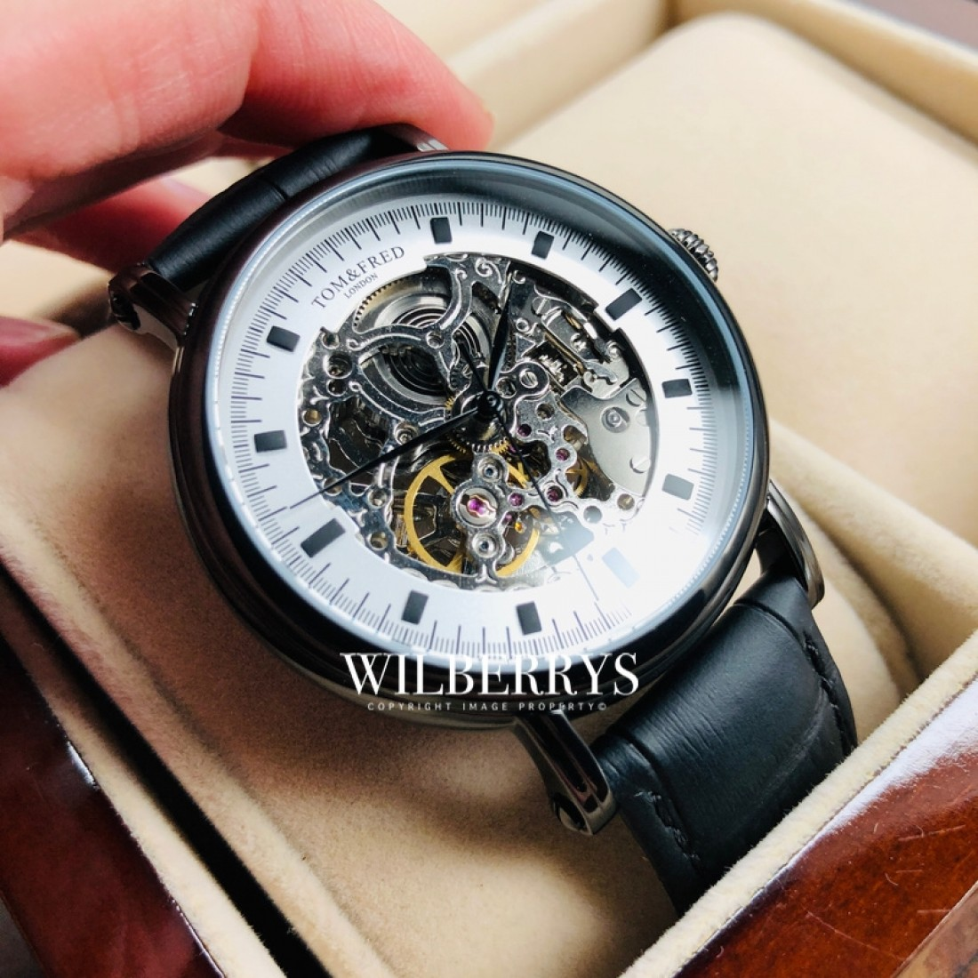 Men's Portendorf Automatic Black Watch