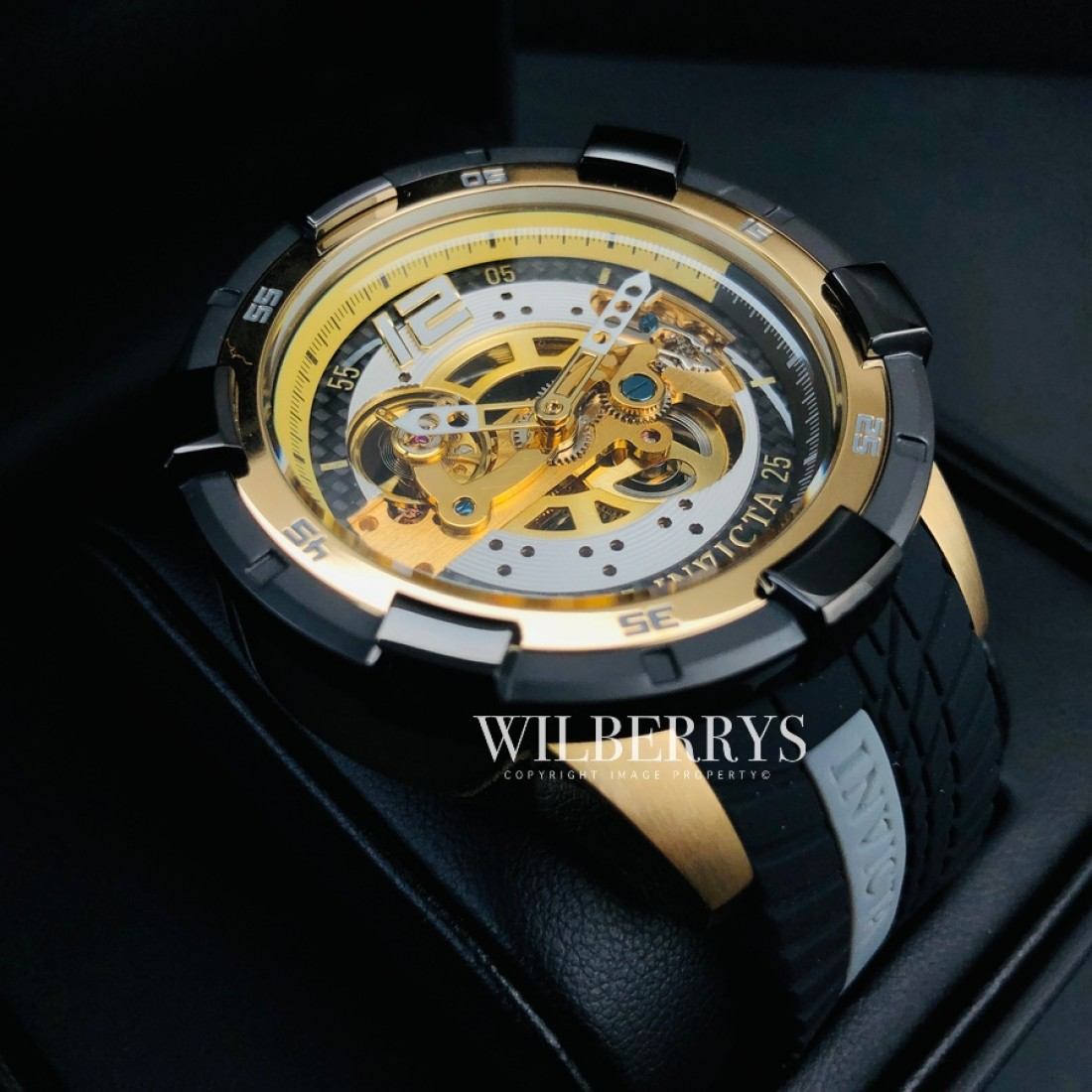 Automatic Rally Silicone Gold