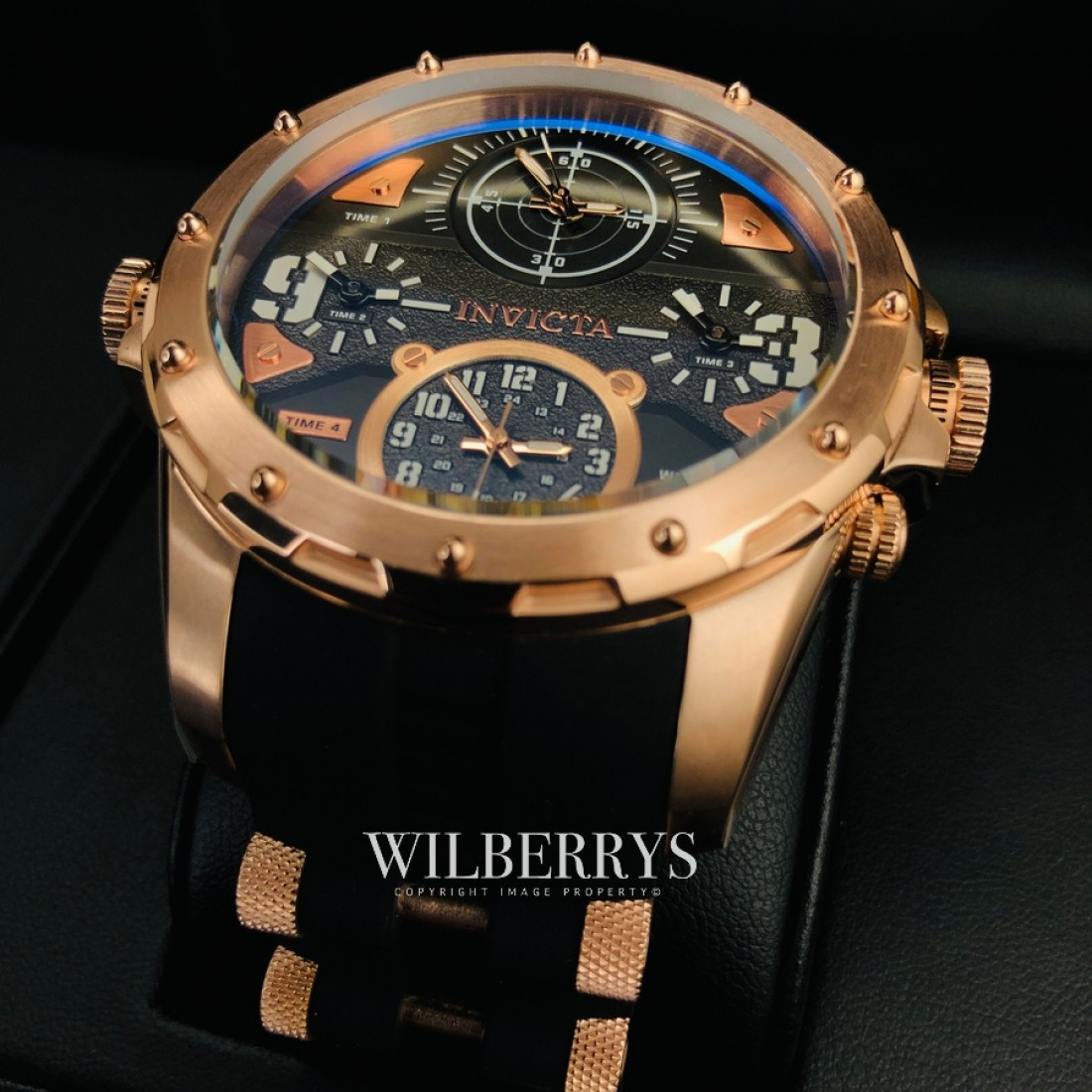 Special Forces Multi Time Zone Rose Gold