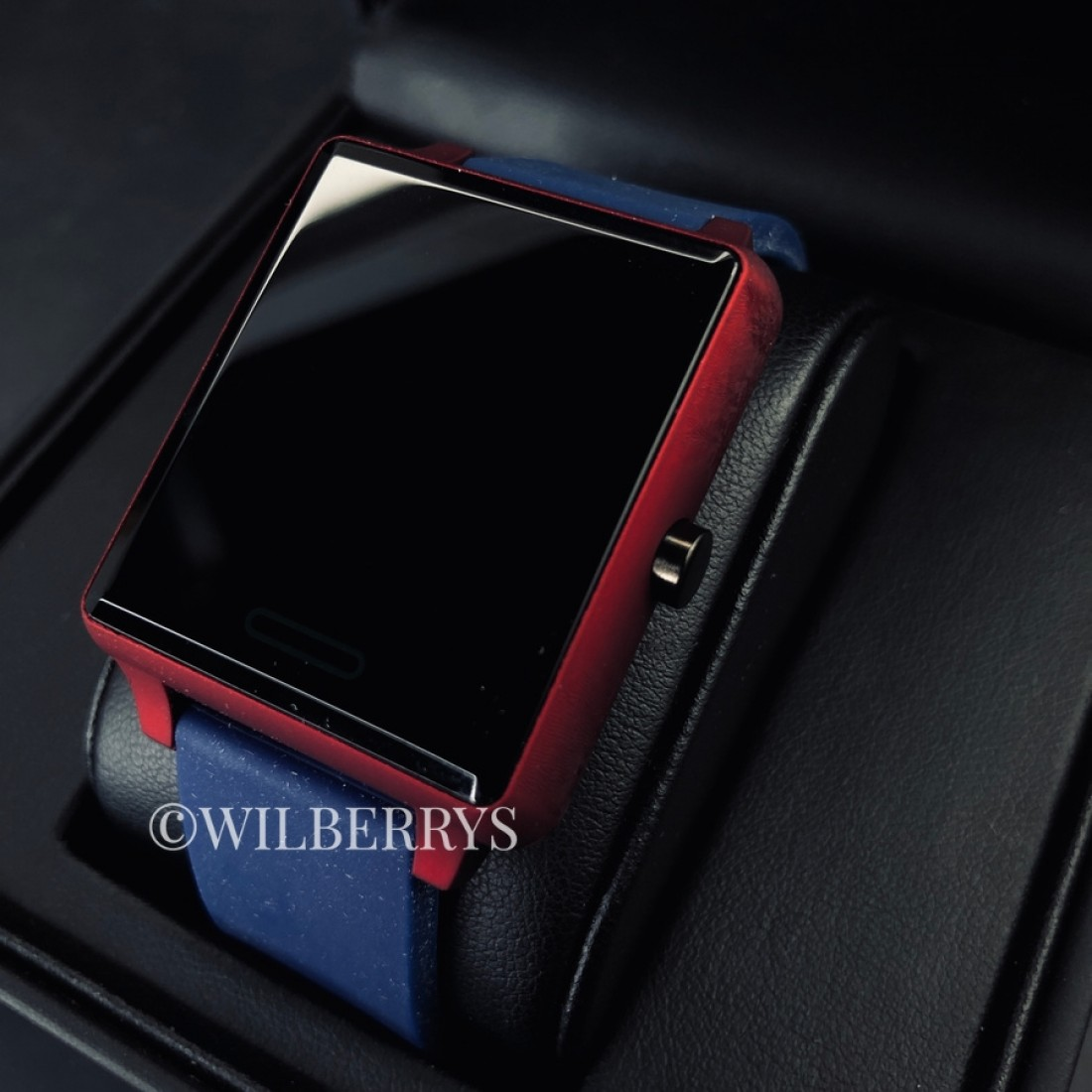 SMART WATCH Ionic Red/Blue Silicone