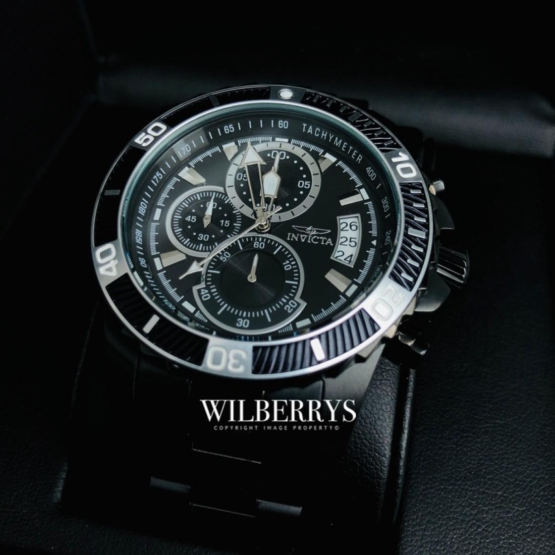 Men's Montepelier Racer Black Ion Watch