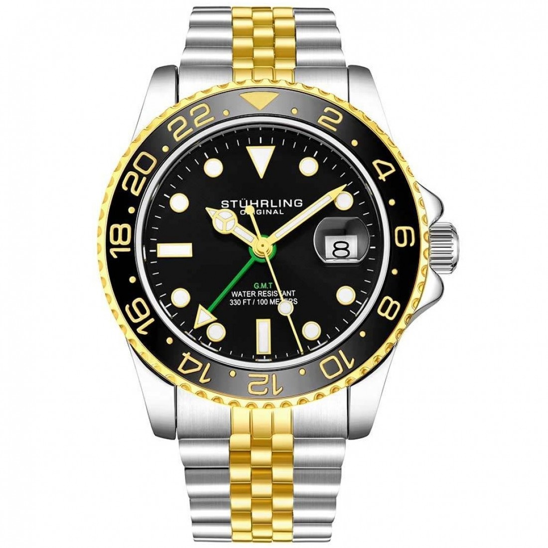 Meridian GMT Diver 44mm 300m Two Tone