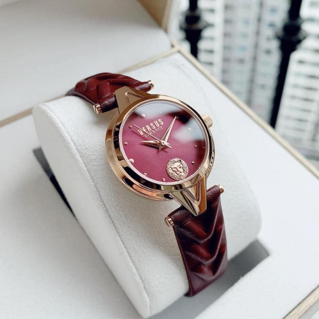 Women's Forlanini Leather Watch