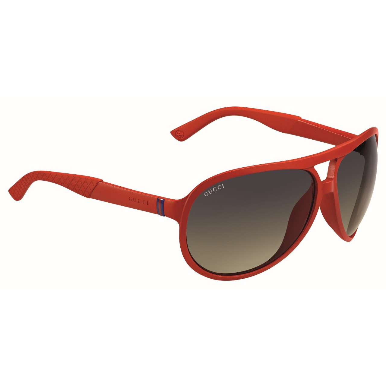c6b426cb772 Double tap to zoom · Unisex GG1030 N S Keyhole Acetate Aviator Red  Sunglasses ...