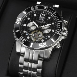 Men's Sea Command Automatic Black Watch