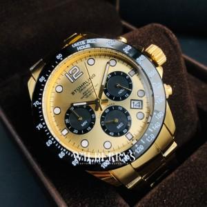 Men's Monaco Aquadiver Gold/Black