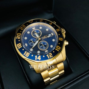 Men's Rally Pro Diver Gold Steel Edition Watch
