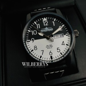 Men's Evolution Pro Mark III Black/White Day/Date Watch