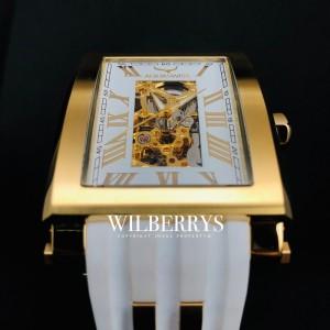 Men's Tanc Automatic 59mm Gold Snow Watch