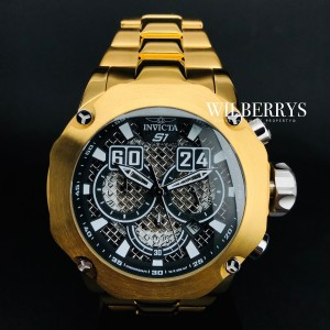 Men's S1 Rally 52mm Gold Edition Chronograph Watch