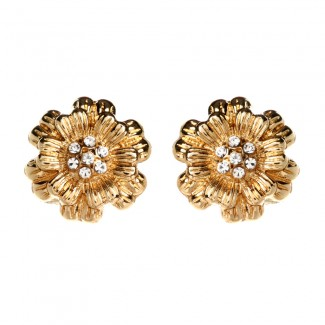 Blanche Floral Studs