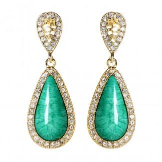 Amrita Classic Teardrops Turquoise