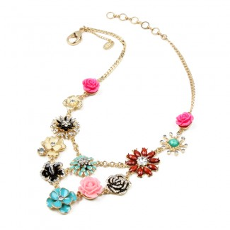 Amrita Delicate Floral Bib