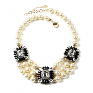 Aristocratic Necklace Black