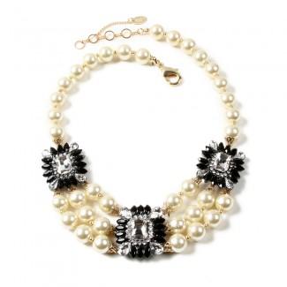 Aristocratic Necklace Black