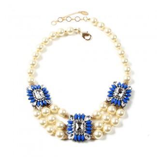 Aristocratic Necklace Blue