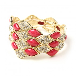 Dorcas Bracelet Fuschia