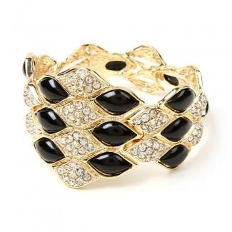 Dorcas Bracelet Jet Black
