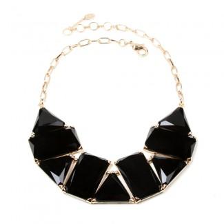 Blair Necklace Jet Black
