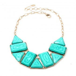 Blair Necklace Turquoise