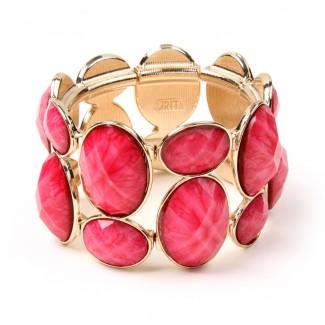 East End Bracelet Fuschia