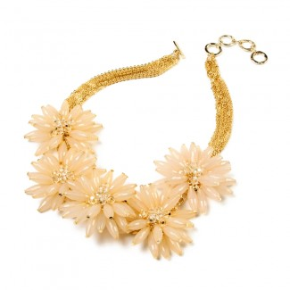 Botanical Necklace Ivory