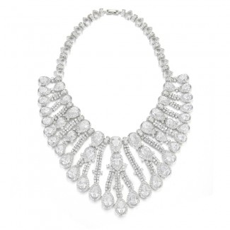 Mary CZ Necklace