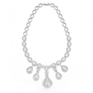 Margarette CZ Necklace