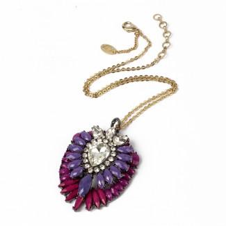 Artistry Ombre Pendant Purple