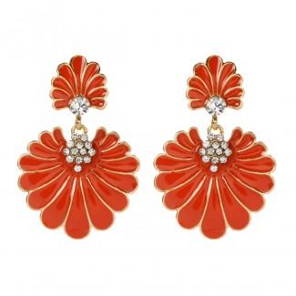 Dream Island Earring Orange