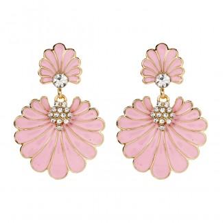 Dream Island Earring Pink