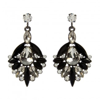 Bellisimo Earrings Black