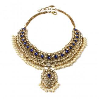 Heena Necklace Blue