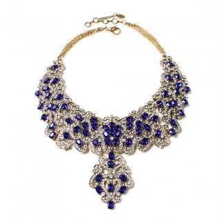 Raiza Necklace Blue
