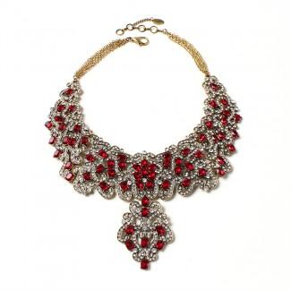 Raiza Necklace Ruby