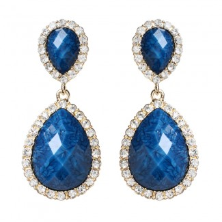 Shelter Island Earring Blue Lapis