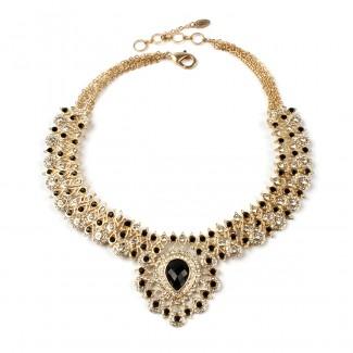 Soma Necklace Gold/Black