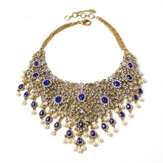 Gayatri Necklace Blue