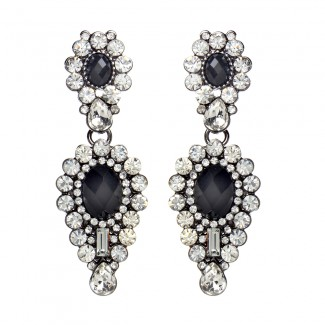 Imperial Earrings Black