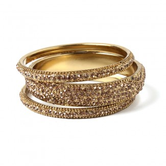 Glam Bangle Set Gold