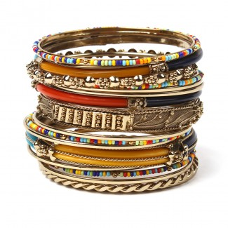Monaco Bangle Set Multi