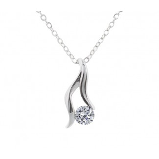 Adore Pendant, Embellished with Crystals from Swarovski®