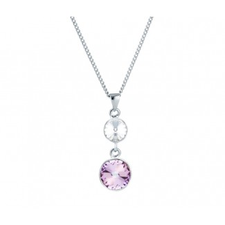 Allure Pendant, Embellished with Crystals from Swarovski®