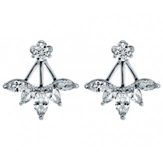 Amity Earrings, Embellished with Crystals from Swarovski®