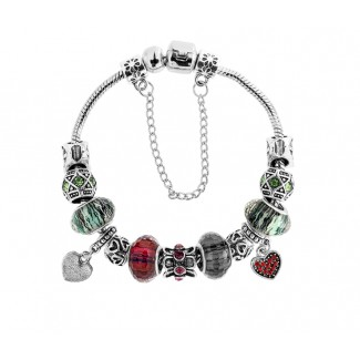 Ava Bracelet in Multi Embellished with Crystals from Swarovski®