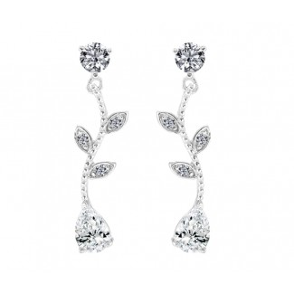 Cascade Earrings, Made with Swarovski Elements®